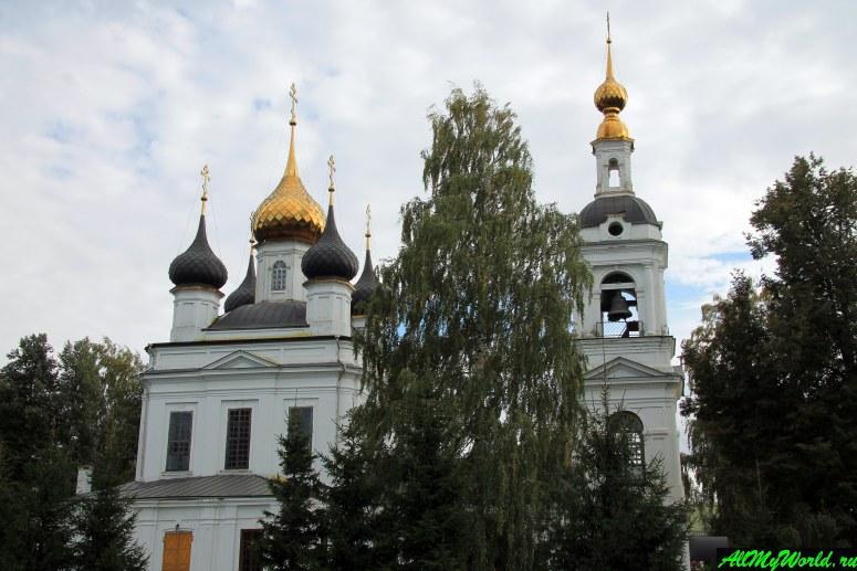 Достопримечательности Рыбинска: Вознесенская церковь