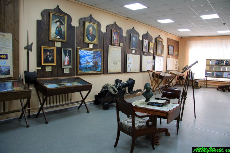 Достопримечательности Рыбинска: Музей адмирала Ф.Ф. Ушакова