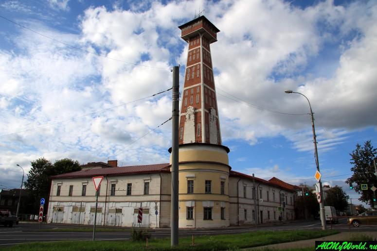 Достопримечательности Рыбинска: пожарная каланча