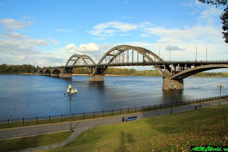Достопримечательности Рыбинска: Рыбинский мост
