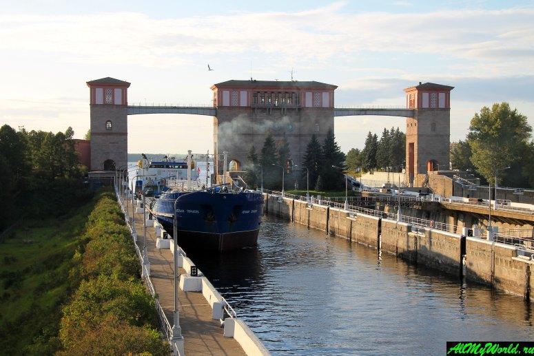 Достопримечательности Рыбинска: судоходные шлюзы Рыбинской ГЭС