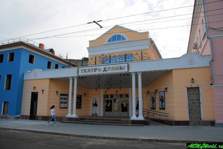 Достопримечательности Рыбинска: Театр драмы