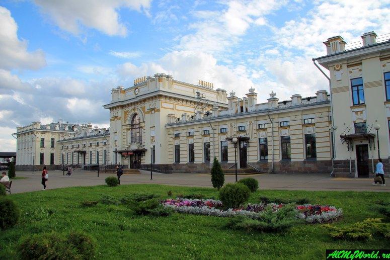 Достопримечательности Рыбинска: железнодорожный вокзал