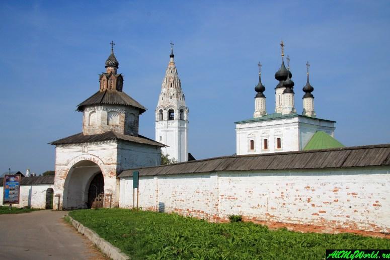 Достопримечательности Суздаля - Александровский монастырь