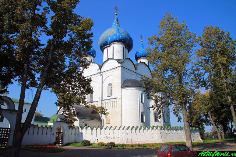 Достопримечательности Суздаля - Богородице-Рождественский собор