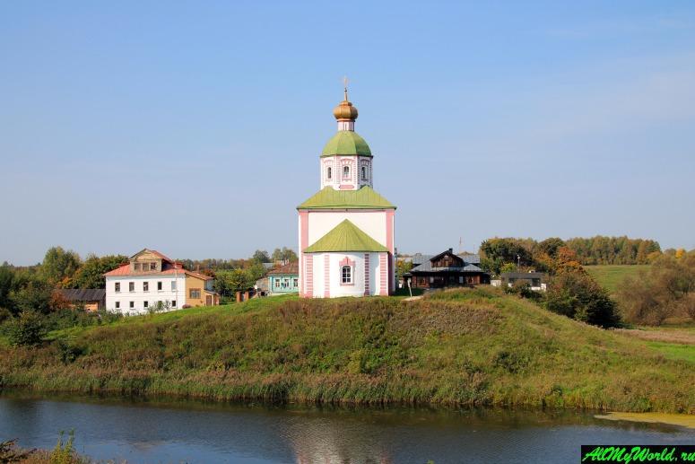 Достопримечательности Суздаля - Ильинская церковь