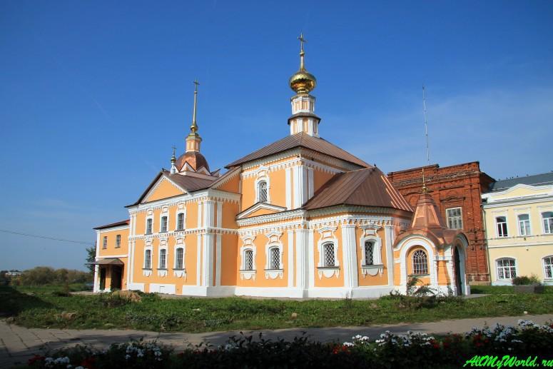 Достопримечательности Суздаля - Кресто-Никольская церковь