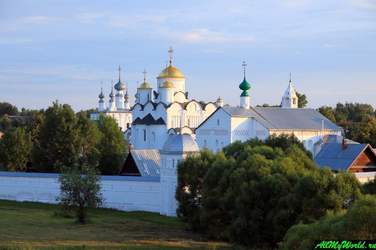 Достопримечательности Суздаля - Покровский монастырь