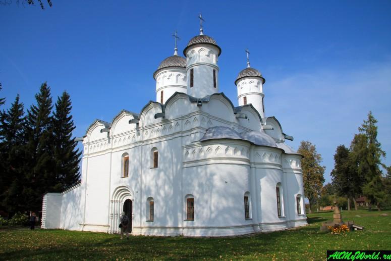 Достопримечательности Суздаля - Ризоположенский монастырь
