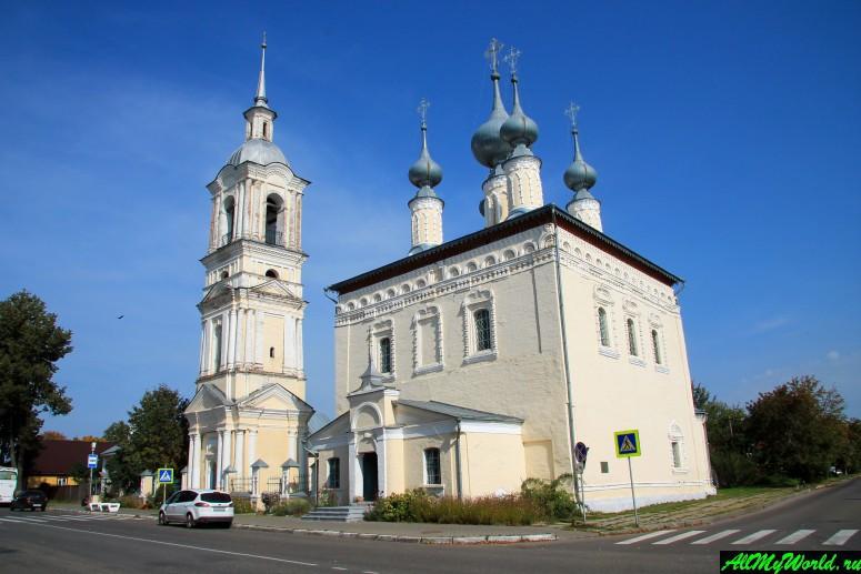 Достопримечательности Суздаля - Смоленская и Симеоновская церкви