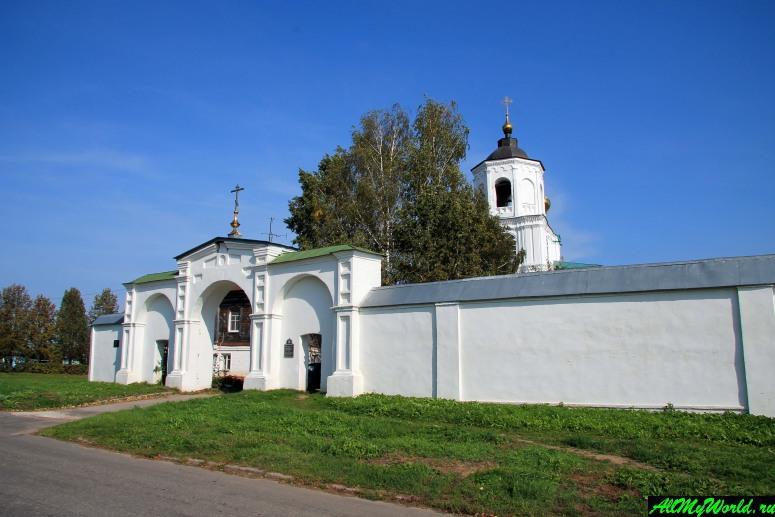 Достопримечательности Суздаля - Свято-Васильевский монастырь
