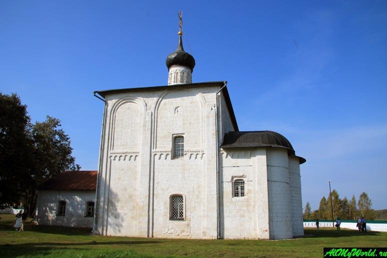Достопримечательности Суздаля - Церковь Бориса и Глеба в Кидекше