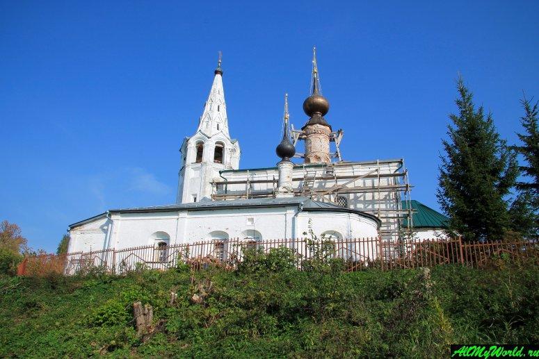 Достопримечательности Суздаля - церковь Косьмы и Дамиана на Яруновой горе