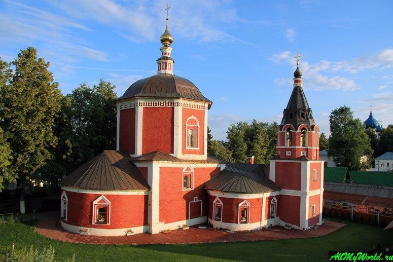 Достопримечательности Суздаля - Успенская церковь