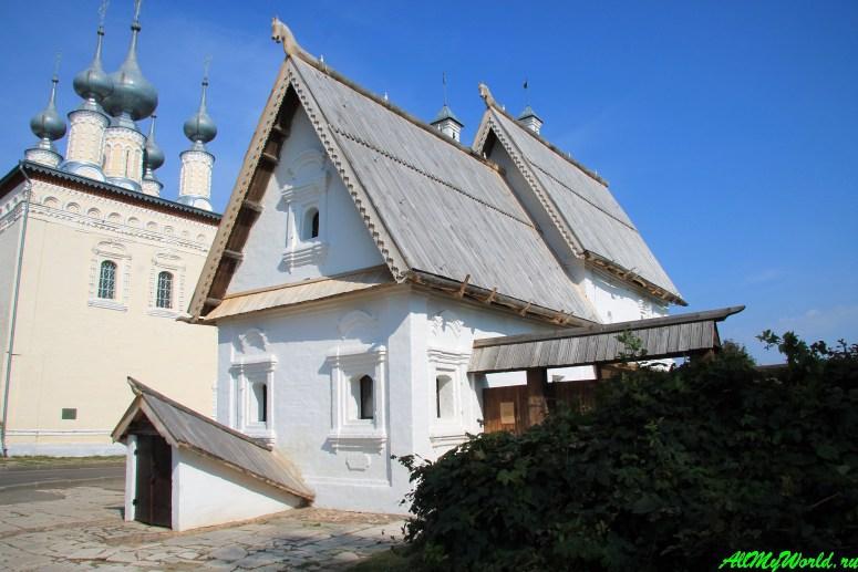 Достопримечательности Суздаля - Посадский дом
