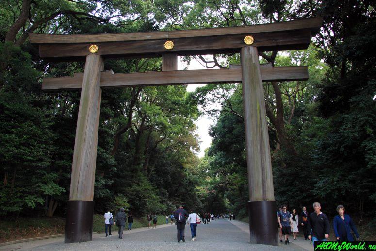 Достопримечательности Токио: храм Мэйдзи-дзингу
