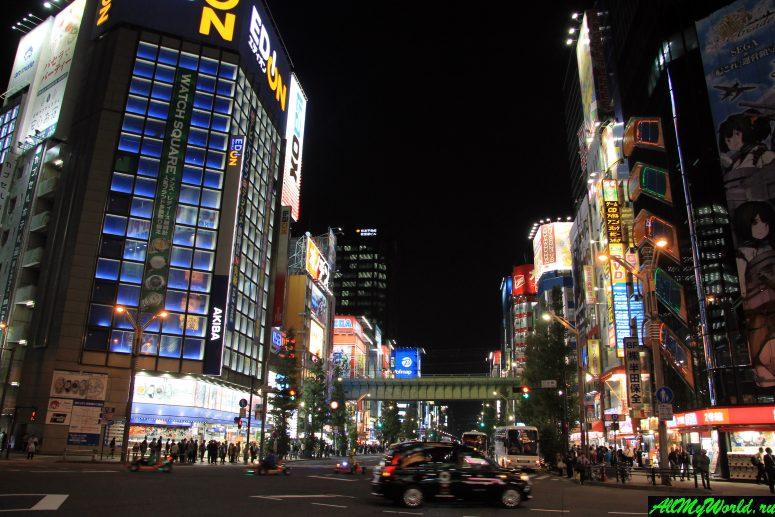 Достопримечательности Токио: Электрик-таун в Акихабаре