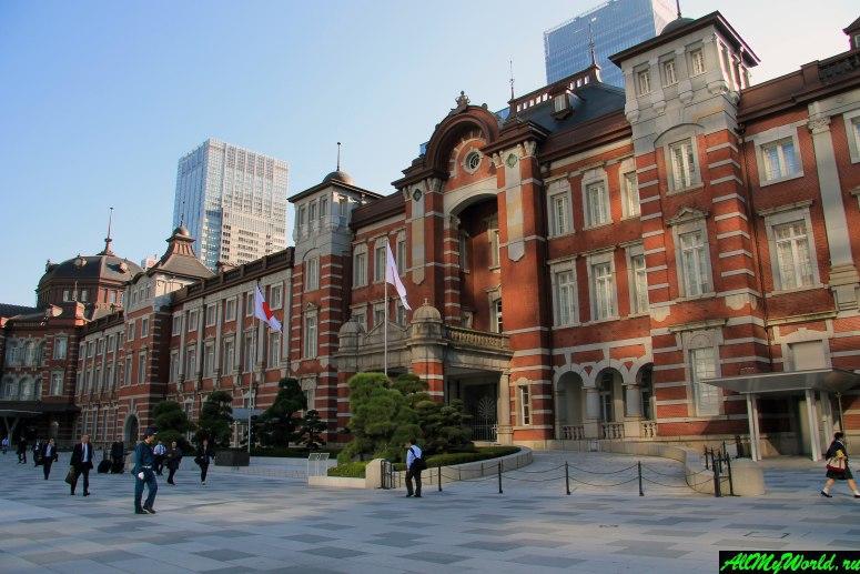 Достопримечательности Токио: Токийский вокзал