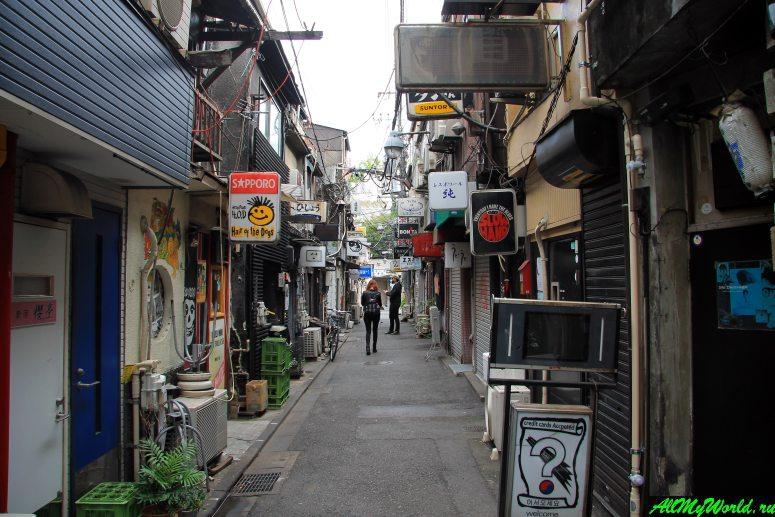 Достопримечательности Токио: переулок Голден-Гай