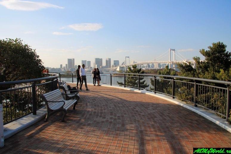 Достопримечательности Токио: остров Одайба