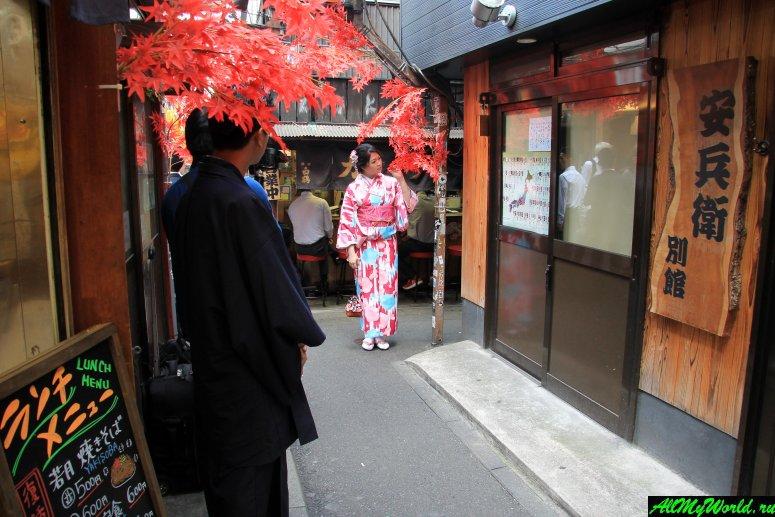 Достопримечательности Токио: переулок Омоидэ Ёкотё