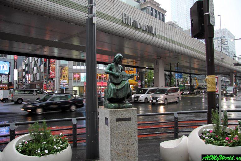 Достопримечательности Токио: перекресток Роппонги