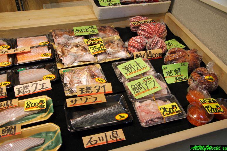 Достопримечательности Токио: рынок Цукидзи