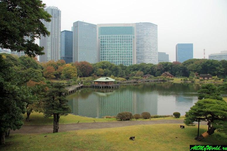 Достопримечательности Токио: сады Хамарикю