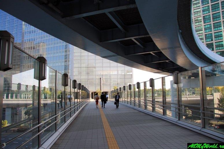 Достопримечательности Токио: район Сиодомэ