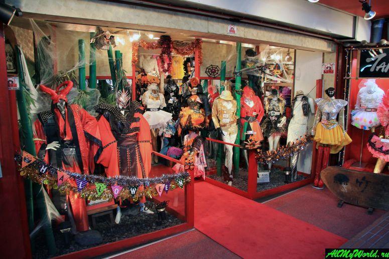 Достопримечательности Токио: улица Такэсита-дори