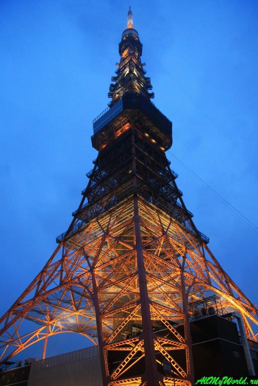 Достопримечательности Токио: Токийская телебашня