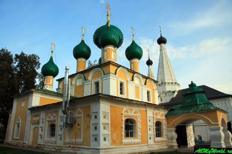 Достопримечательности Углича: Алексеевский женский монастырь