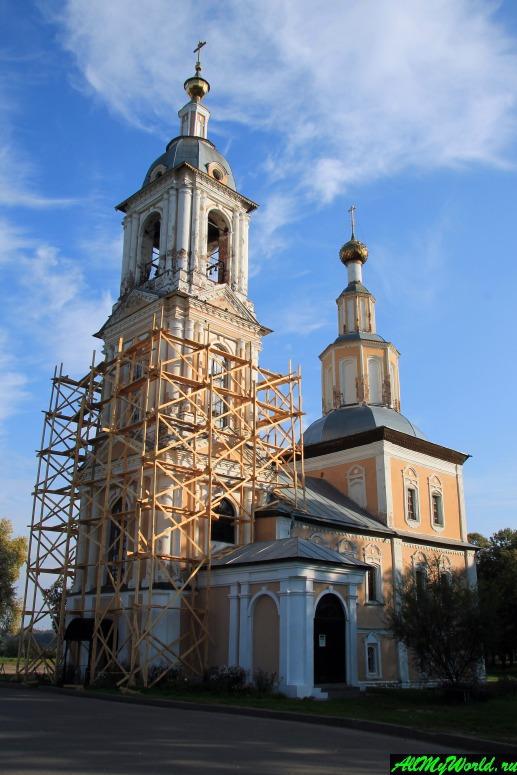 Достопримечательности Углича: церковь Казанской иконы Божией Матери