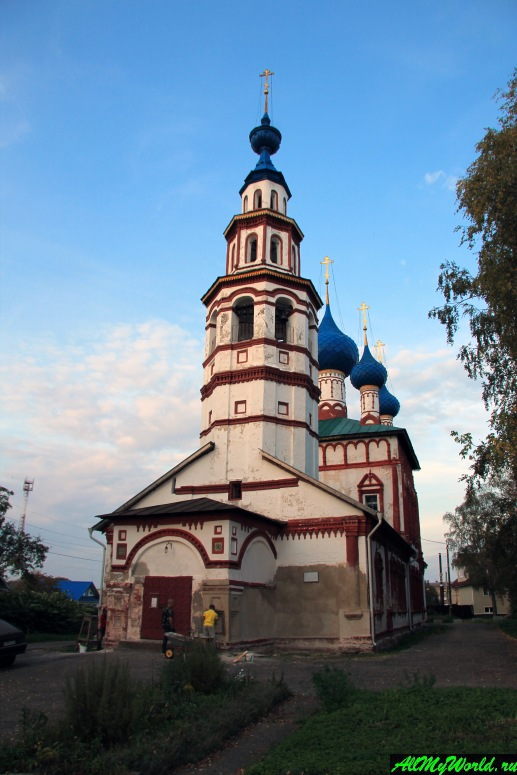 Достопримечательности Углича: церковь Корсунской иконы Божией Матери