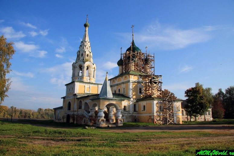 Достопримечательности Углича: церковь Рождества Иоанна Предтечи