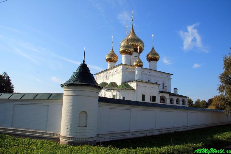 Достопримечательности Углича: Воскресенский мужской монастырь