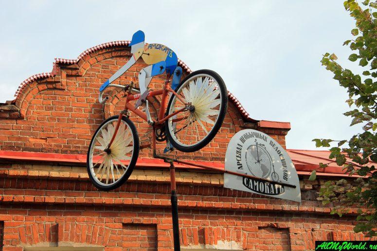 Достопримечательности Углича: Музей необычных велосипедов