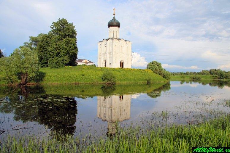 Достопримечательности Владимира - церковь Покрова-на-Нерли
