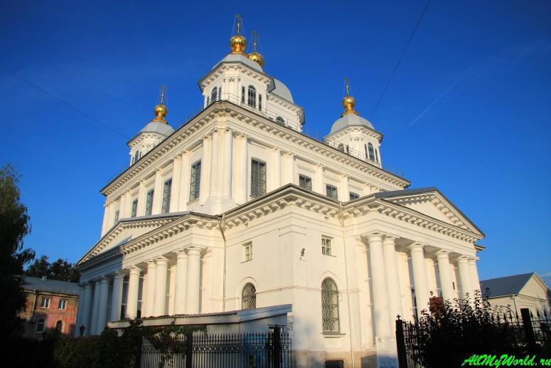 Достопримечательности Ярославля: Казанский женский монастырь