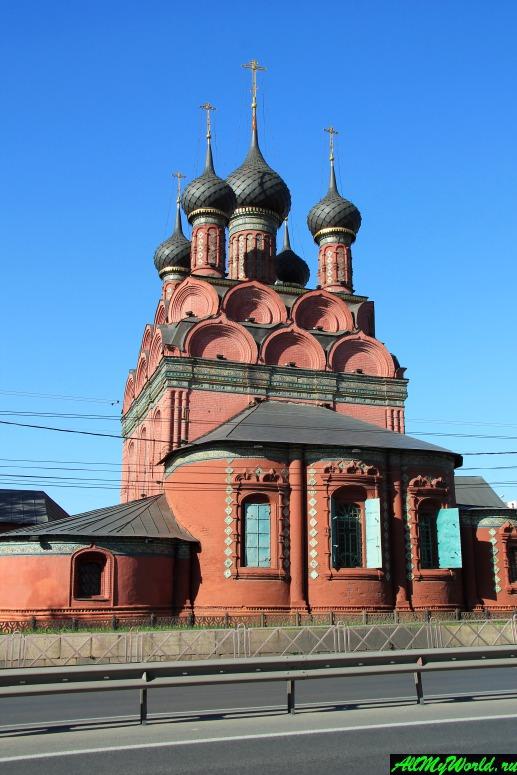 Достопримечательности Ярославля: церковь Богоявления