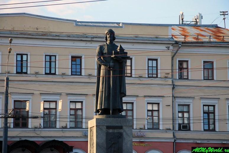 Достопримечательности Ярославля: памятник Ярославу Мудрому