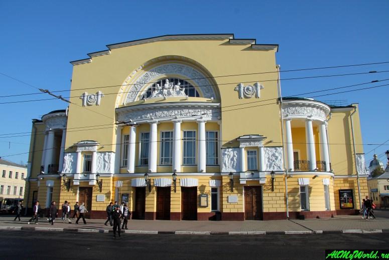 Достопримечательности Ярославля: Театр драмы имени Федора Волкова