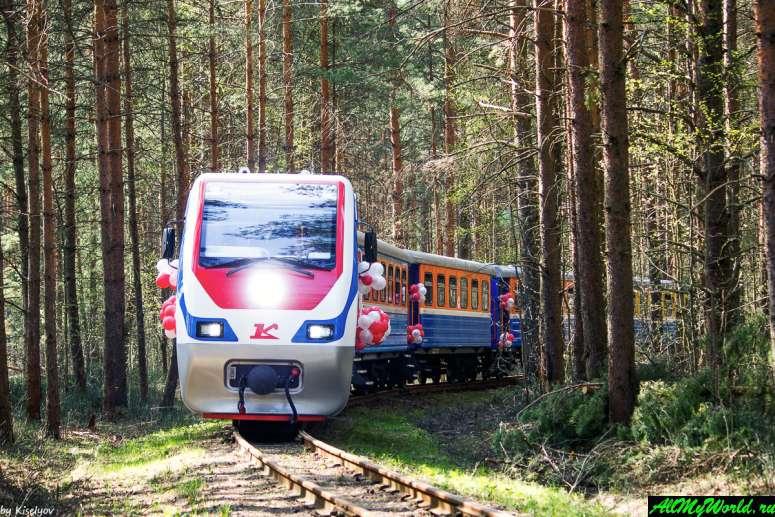 Достопримечательности Ярославля: Ярославская детская железная дорога