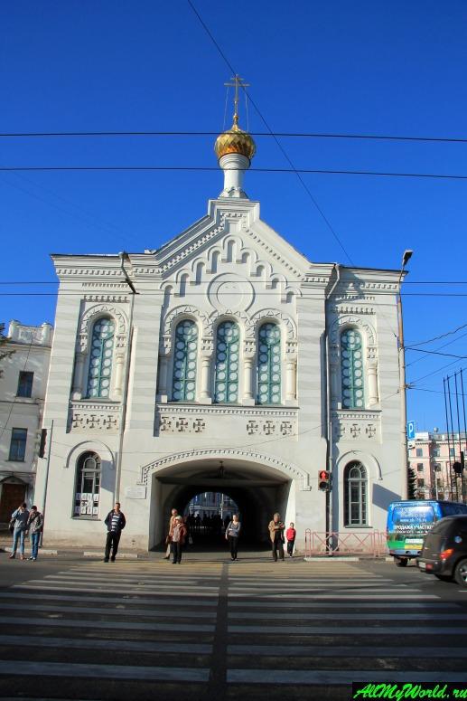 Достопримечательности Ярославля: Знаменская (Власьевская) крепостная башня