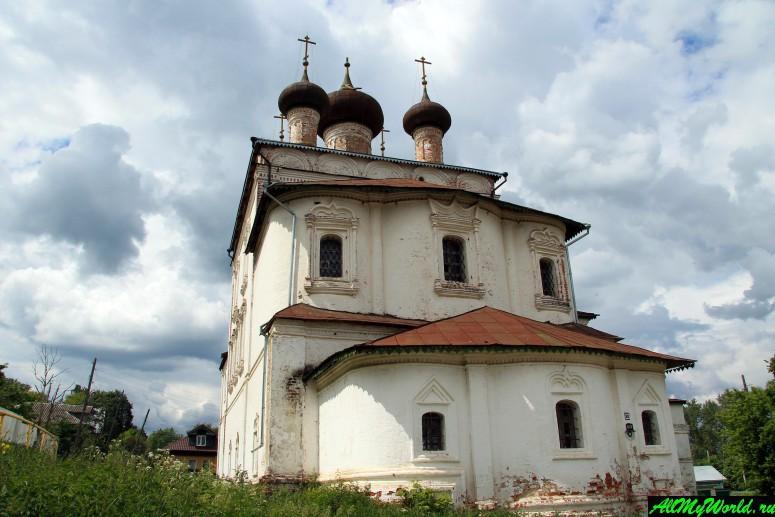 Достопримечательности Гороховца: Свято-Воскресенская церковь