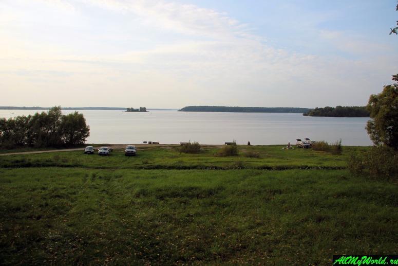 Достопримечательности Калязина - Угличское водохранилище