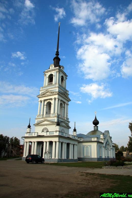 Достопримечательности Калязина - Вознесенская церковь
