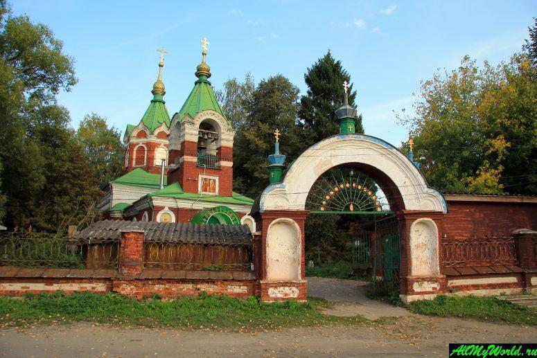 Достопримечательности Калязина - Введенская церковь