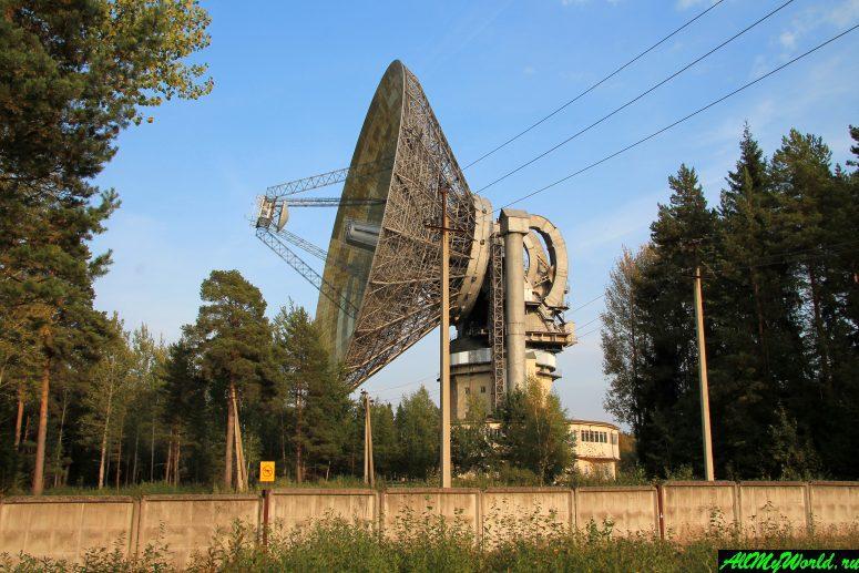Достопримечательности Калязина - Калязинская радиоастрономическая обсерватория