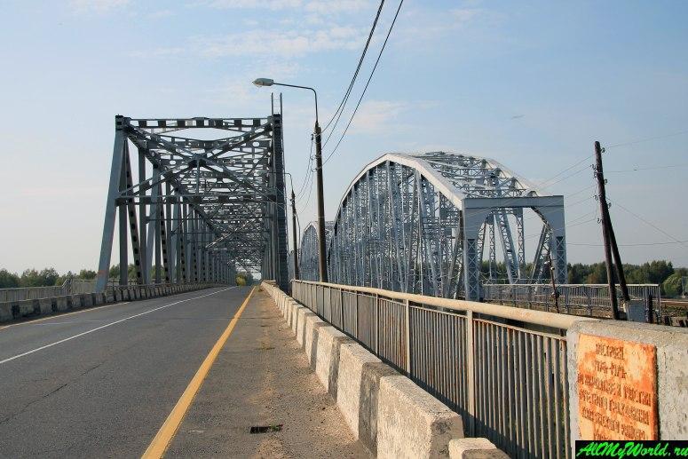 Достопримечательности Калязина - Калязинский (Кашинский) мост